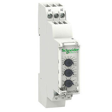 Реле контроля повышенного и пониженного напряжения 65-260В RM17UBE15 Schneider Electric