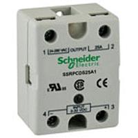 ТВЕРДОТЕЛЬНОЕ реле, 90-280В АС, 24-280В АС, 25А SSRPP8S25A1 Schneider Electric