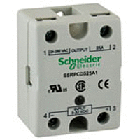 ТВЕРДОТЕЛЬНОЕ реле, 90-280В АС, 48-530В АС, 75А SSRPP8S75A2 Schneider Electric