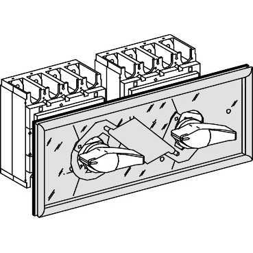 Механическая блокировка для INS320/630 31074 Schneider Electric