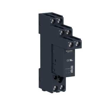 Реле интерфейсное RSB, 2 перекидных контакта, 24V DC плюс розетка RSB2A080BDS Schneider Electric