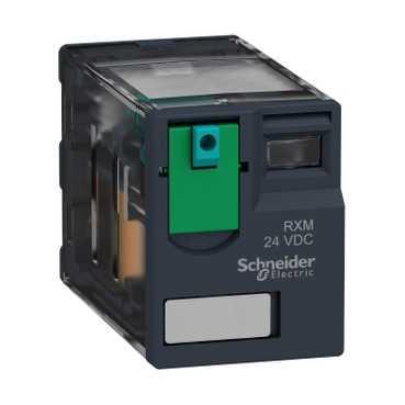 Реле промежуточное RXM, 4C/O, 6А, 12В DC RXM4AB1JD Schneider Electric