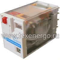 Реле промежуточное RXM, 4 C/O, 6А, 24В AC с LED RXM4AB2B7 Schneider Electric