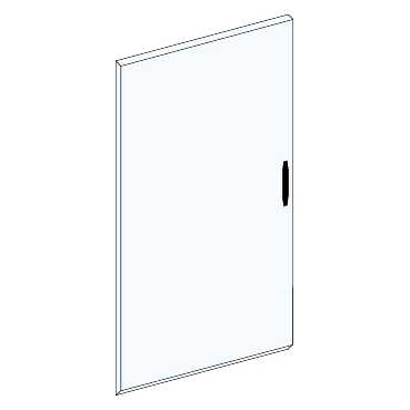 Непрозрачная дверь шкафа Ш 550мм 5 ряда 08085 Schneider Electric