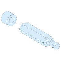 4 СТОЙКИ ДЛЯ РЕЕК М8, В = 40 + 10 ММ 03199 Schneider Electric
