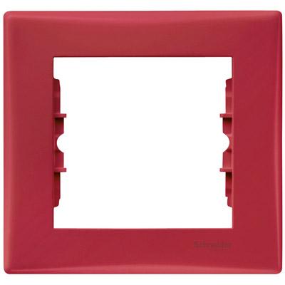 Рамка Sedna 1x, красная SDN5800141 Schneider Electric