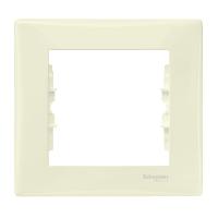 Рамка Sedna 1x, бежевая SDN5800147 Schneider Electric