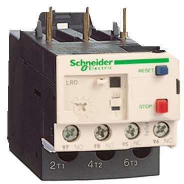 Тепловое реле перегрузки LRD 0,16-0,25А класс 10 с зажимами под винт LRD02 Schneider Electric