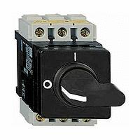 3п Главный/Аварийный Выключатель-Разъединитель Установка в электрошкаф 63А VVD3 Schneider Electric