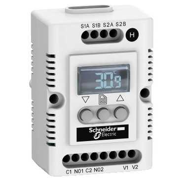 ЭЛЕКТРОННЫЙ ГИГРОТЕРМОСТАТ 230В NSYCCOHYT230VID Schneider Electric