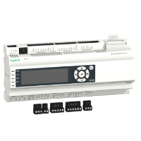 ПЛК с дисплеем 23 вх/вых, Modbus, слот для модуля связи BACnet, Solution TM168D23CS Schneider Electric