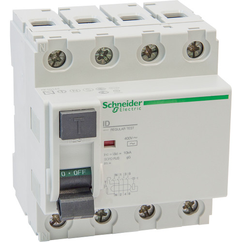 УЗО ID 4п 100A/100мА AC 1,5/10кА 16901 Schneider Electric