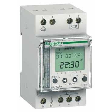 Сумеречный выключатель IC2000P + Настенный Датчик ~230В, релейный 1CO, 15483 Schneider Electric