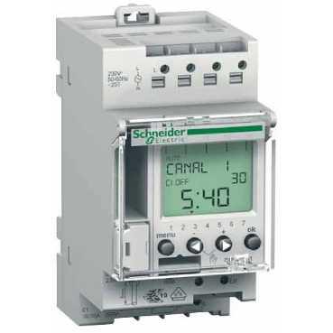 Реле времени программируемое IHP + 1c 1CO, Тип программирования 24 часа / 7 дней. CCT15401 Schneider Electric