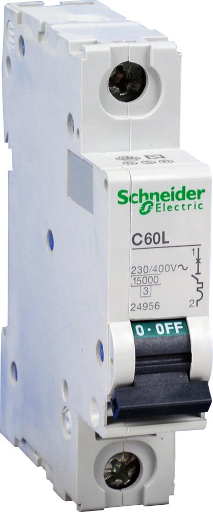 Автоматический выключатель C60L 1П 2A K 25462 Schneider Electric
