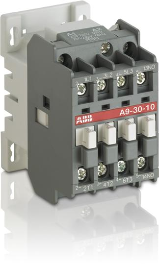 Контактор A9-30-10 (9А AC3) катушка 240В AC 1SBL141001R8810 ABB