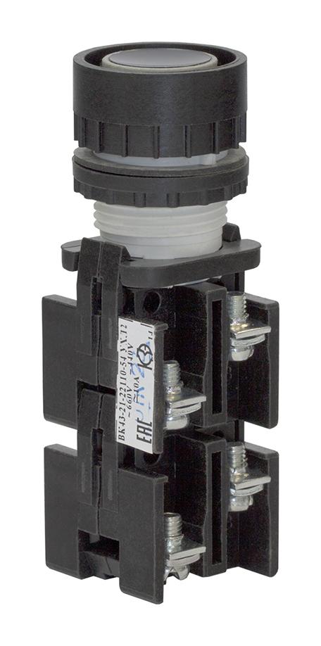 Выключатель кнопочный ВК 43-21-22110-54 УХЛ2, Черный 180221100ВЧ000000000 Кашинский Завод Электроаппаратуры