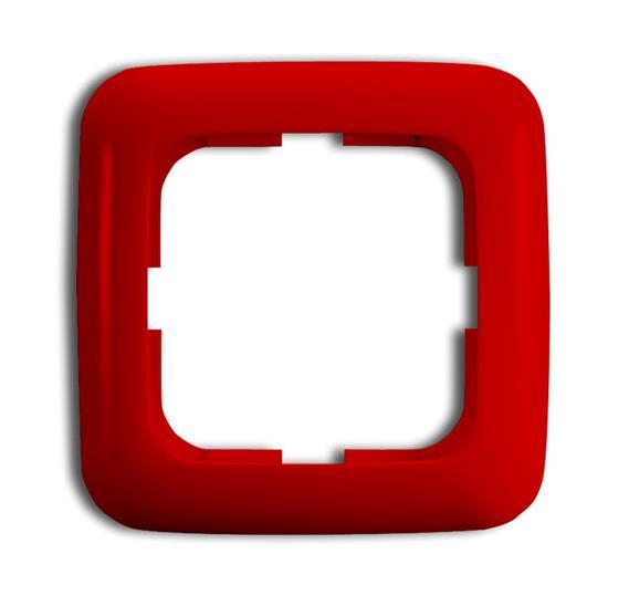 Рамка 1-п.,ReflexSI,красная 1725-0-1058 ABB