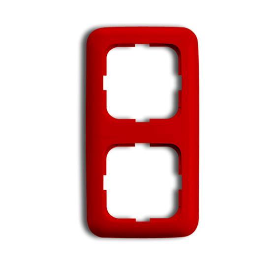 Рамка 2-п.,ReflexSI,красная 1725-0-1082 ABB