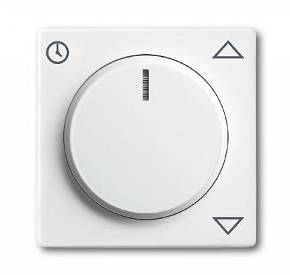 Плата центральная (накладка) для комфортного механизма жалюзи 6419 U, серия solo/future, цвет chalet 6430-0-0398 ABB