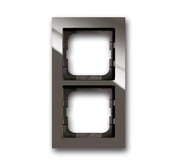 Рамка 2-постовая, серия axcent, цвет entrée-grey 1754-0-4472 ABB