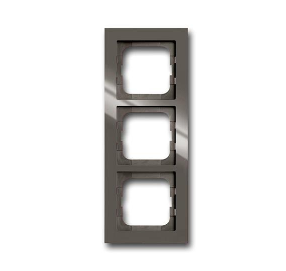 Рамка 3-постовая, серия axcent, цвет entrée-grey 1754-0-4473 ABB