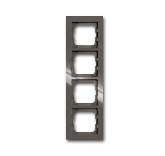 Рамка 4-постовая, серия axcent, цвет entrée-grey 1754-0-4474 ABB