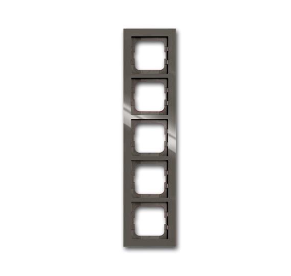Рамка 5-постовая, серия axcent, цвет entrée-grey 1754-0-4475 ABB