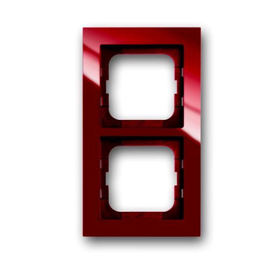 Рамка 2-постовая, серия axcent, цвет foyer-red 1754-0-4477 ABB