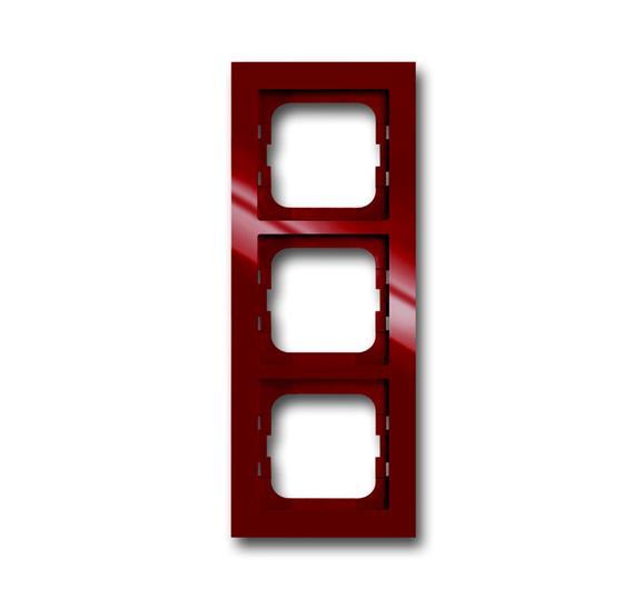 Рамка 3-постовая, серия axcent, цвет foyer-red 1754-0-4478 ABB