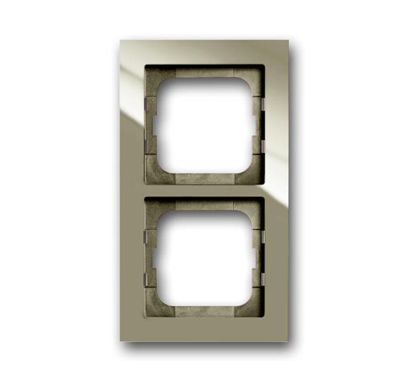 Рамка 2-постовая, серия axcent, цвет maison-beige 1754-0-4482 ABB