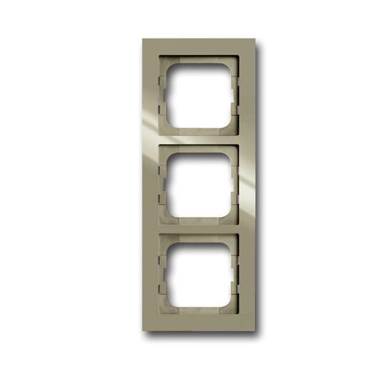 Рамка 3-постовая, серия axcent, цвет maison-beige 1754-0-4483 ABB