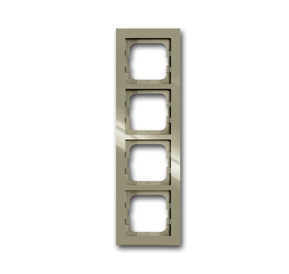 Рамка 4-постовая, серия axcent, цвет maison-beige 1754-0-4484 ABB