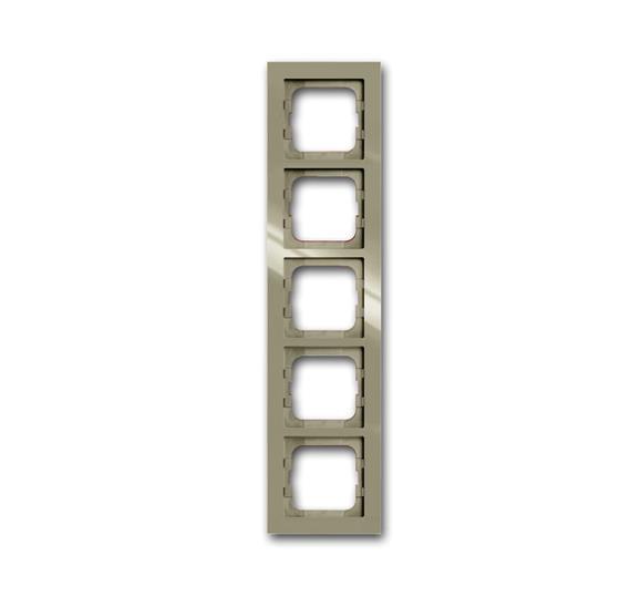 Рамка 5-постовая, серия axcent, цвет maison-beige 1754-0-4485 ABB