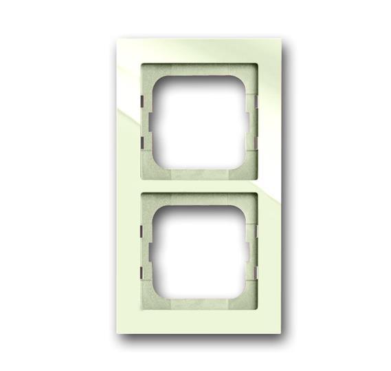 Рамка 2-постовая, серия axcent, цвет chalet-white 1754-0-4487 ABB