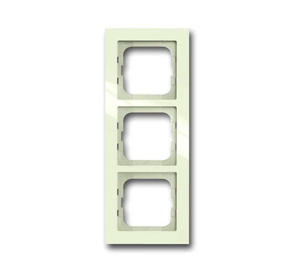 Рамка 3-постовая, серия axcent, цвет chalet-white 1754-0-4488 ABB