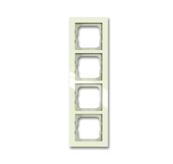 Рамка 4-постовая, серия axcent, цвет chalet-white 1754-0-4489 ABB