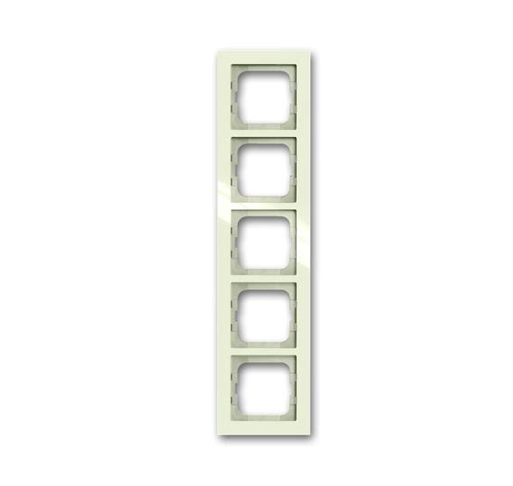 Рамка 5-постовая, серия axcent, цвет chalet-white 1754-0-4490 ABB