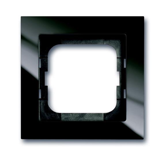Рамка 1-постовая, серия axcent, цвет château-black 1754-0-4491 ABB