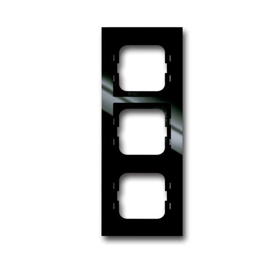 Рамка 3-постовая, серия axcent, цвет château-black 1754-0-4493 ABB