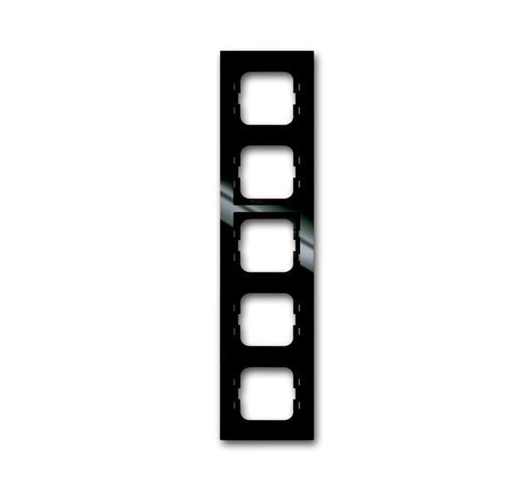 Рамка 5-постовая, серия axcent, цвет château-black 1754-0-4495 ABB