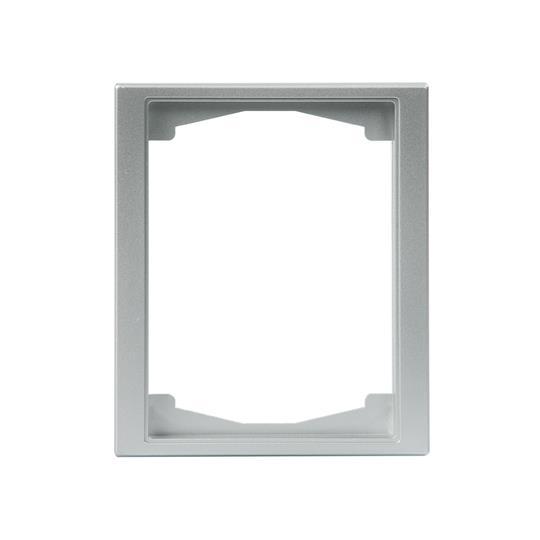 Рамка 1-постовая, 100мм серия Impressivo, алюминий 1721F100-83 ABB