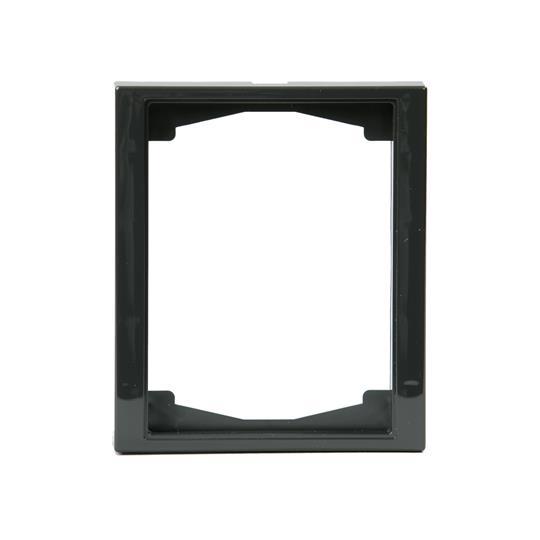Рамка 1-постовая, 100мм серия Impressivo, антрацит 1721F100-81 ABB