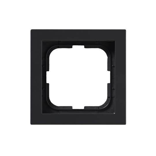 Рамка 1-постовая, серия Impressivo, антрацит 1721F85-81 ABB