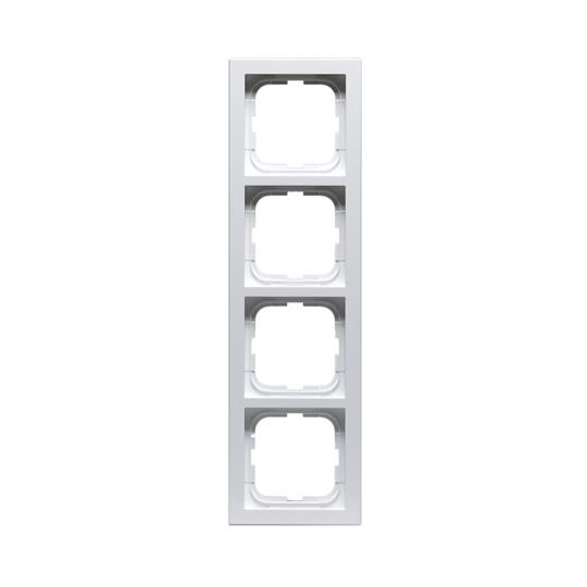 Рамка 4-постовая, серия Impressivo, белый 1724F85-84 ABB