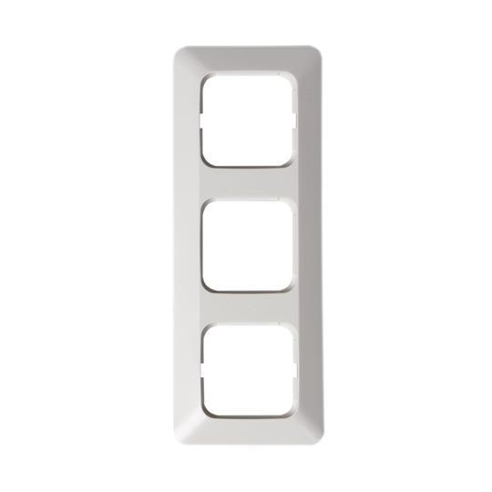 Рамка 3-постовая, серия Jussi, белый 2513 ABB