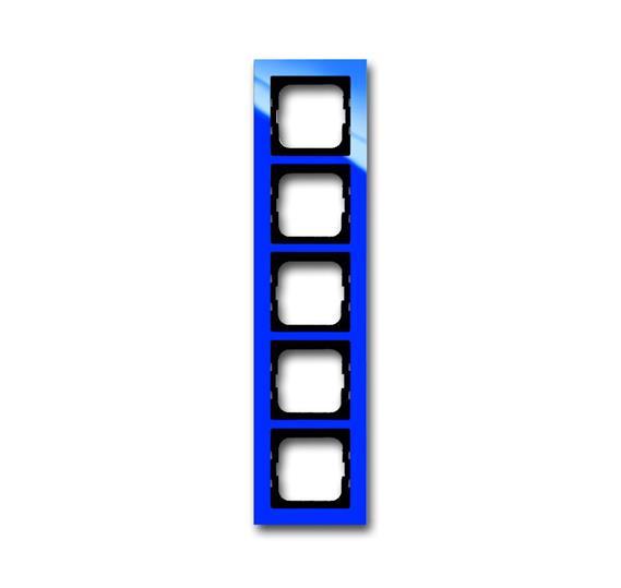 Рамка 5-постовая, серия axcent, цвет синий 1754-0-4355 ABB