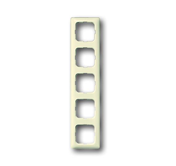 Рамка 5-постовая для кабель-каналов, Busch-Duro 2000 SI, слоновая кость 1725-0-1493 ABB