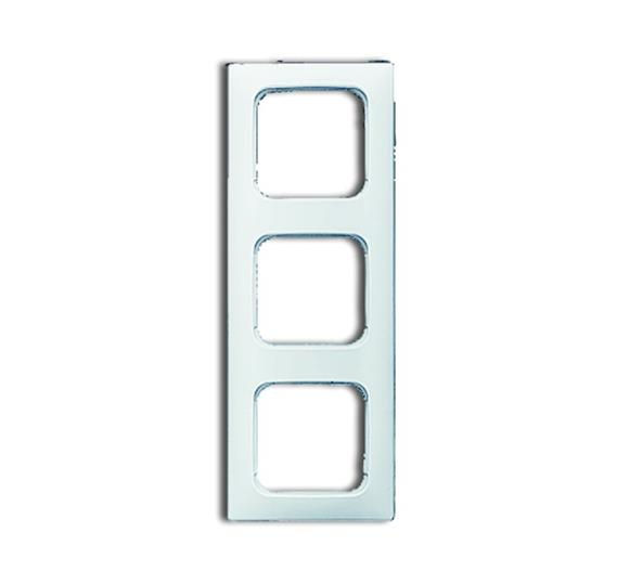 Рамка 3-постовая для кабель-каналов, серия Reflex SI, альпийский белый 1725-0-1496 ABB