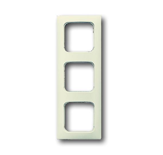 Рамка 3-постовая для кабель-каналов, Busch-Duro 2000 SI, слоновая кость 1725-0-1491 ABB
